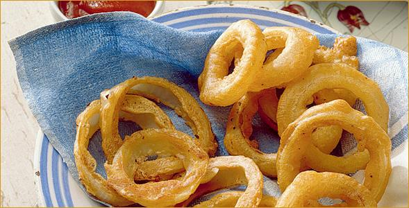 Dixondale bettered onion rings