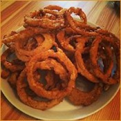 Ready to cook onion rings